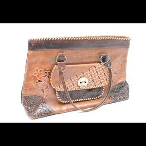 Handmade original leather purse